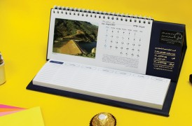 تقویم رومیزی یادداشت دار (819)