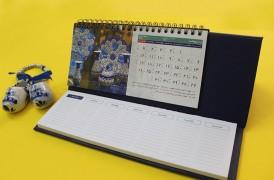 تقویم رومیزی یادداشت دار گالینگور (928)