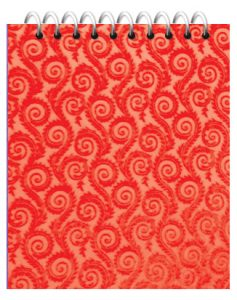 دفتر یادداشت جیبی طلقی رنگی
