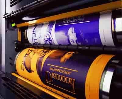لاستیک چاپ افست